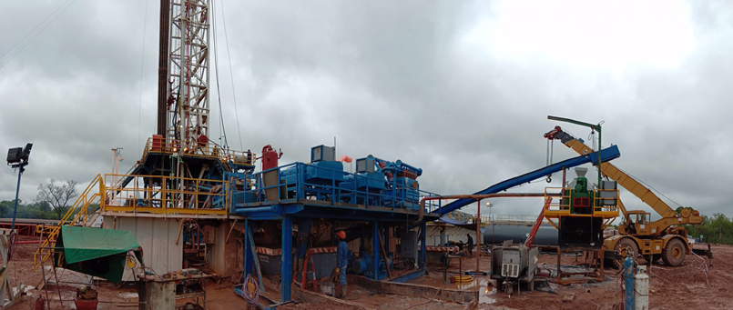 KOSUN solids control equipment and drilling waste management equipment at a oil exploitation project in Argentina