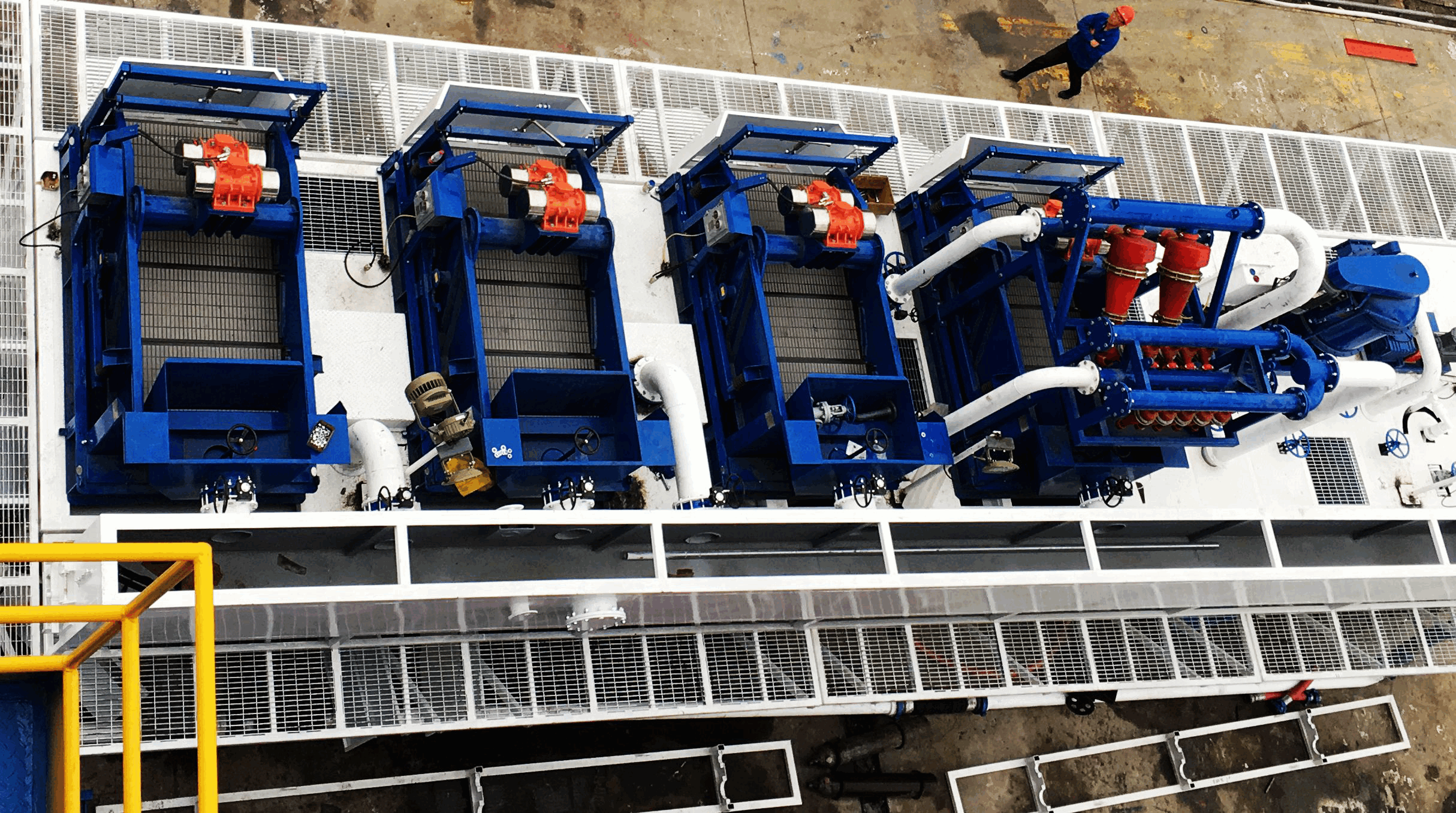 KOSUN Solids Control Systems for CNOOC Offshore Drilling Artificial Island Project