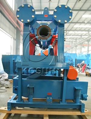 Desilter machine