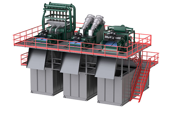 Slurry Separation Plant for Micro-tunneling