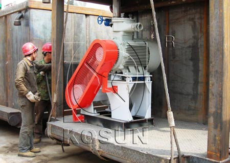 KOSUN exported 70D drilling rig shear pump to the UAE
